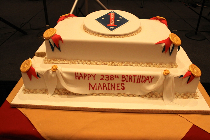 Happy Birthday Marines Marshmallows Margaritas