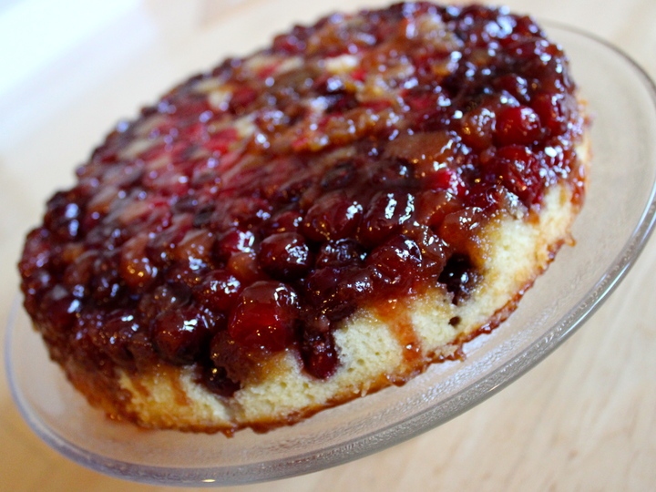 Cranberry upside-down cake (Serves 8-10, Adapted slightly from The ...
